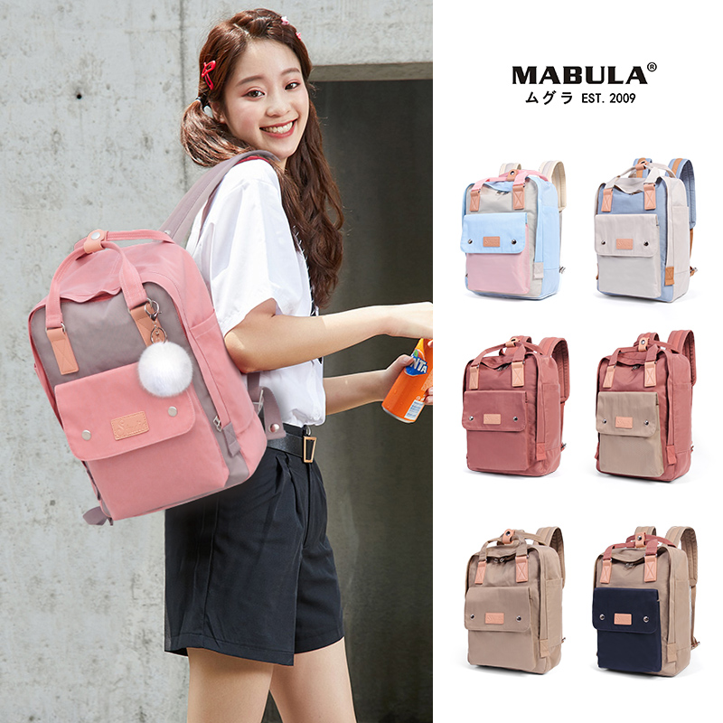 2020 New Waterproof Nylon Kids Backpack Girls For Middle School Student Travel Backpacks Vintage Children Schoolbags Women Bag