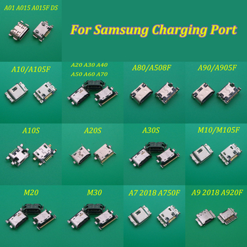 1pcs Charger Micro USB Charging Port Dock Connector Socket For Samsung Galaxy A70 A60 A50 A40 A30 A20 A80 A90 A20S A30S M10 M20 image
