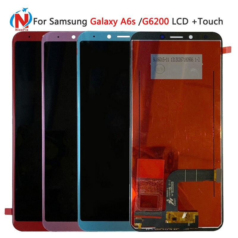 Für Samsung Galaxy A6s G6200 SM G6200 LCD display Touchscreen Digitizer Montage Für Samsung A6s lcd-in Handy-LCDs aus Handys & Telekommunikation bei AliExpress - 11.11_Doppel-11Tag der Singles 1