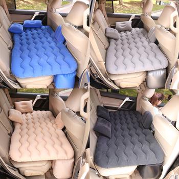 Łóżko samochodowe Air nadmuchiwany materac Sofa Auto tylne siedzenie Sofa poduszka odkryty Camping mata poduszka uniwersalna dla ciężarówka SUV JK026 tanie i dobre opinie HAIMAITONG CN (pochodzenie) 130*70cm