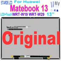 Origina13 Laptop LCD For Huawei Matebook 13 WRT W19 WRT W29 LCD Display Touch Screen Digitizer Assembly LED Panel New 2160x1440