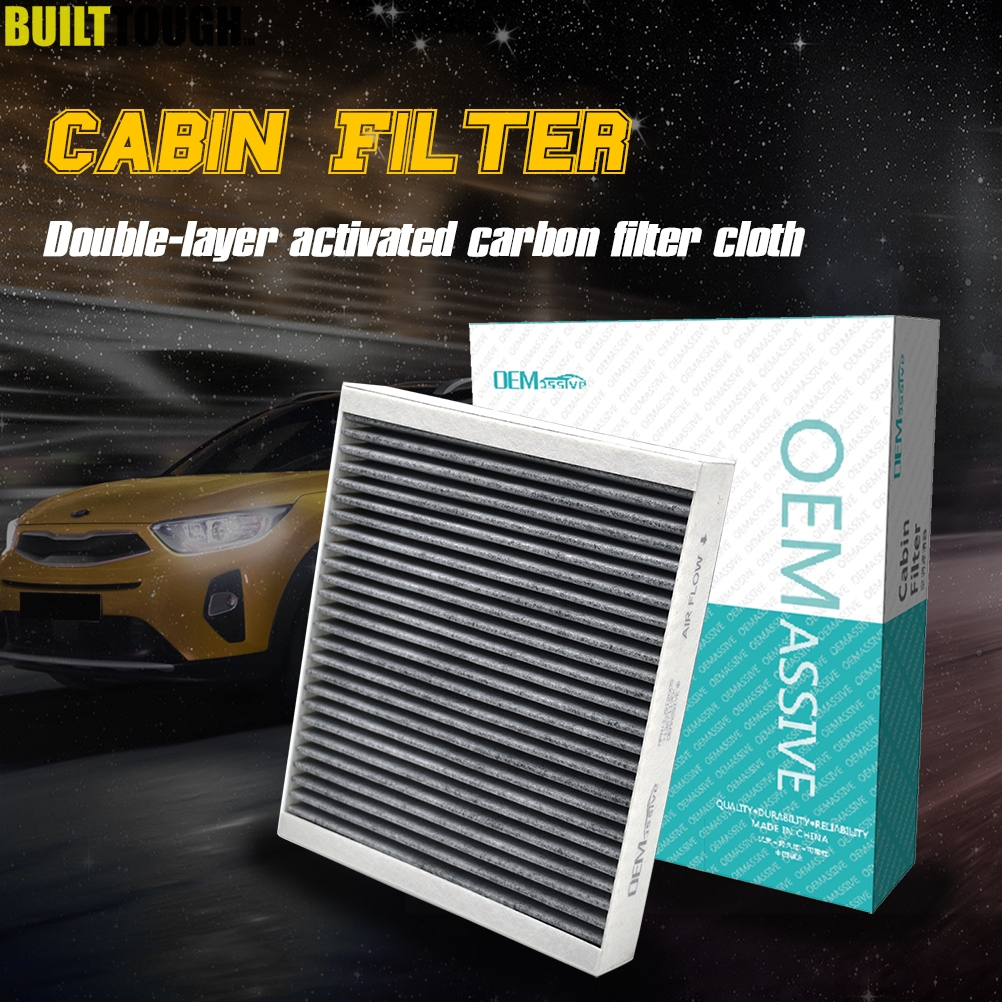 CABIN AIR FILTER CHARCOAL ACTIVATED FOR HYUNDAI VELOSTER 2012-2016