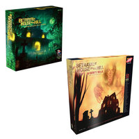 Betrayal At House on The Hill Board Game Basic Plus Expansion Widow's Walk Board Game Adult Card Educational Toys