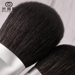 Image 5 - MyDestiny makeup brush black charm 13pcs animal hair brushes set for foundation blush powder eyeshadow etc   The Master Series