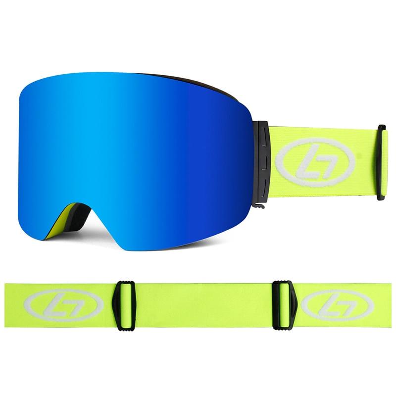 Ski Goggles Snowboard Snow Eyewear Anti-fog Big Ski Mask Glasses UV Protection Outdoor Winter Sports Skiing Skate For Men Women