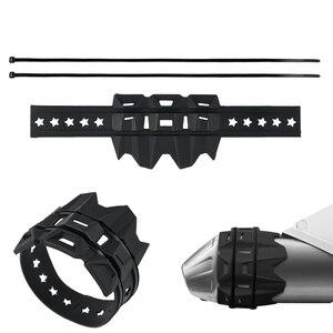 Exhaust Muffler Tail Pipe Shield Protector Guard for Husqvarna Husaberg FE TE FC TC FX TX 125 250 300 350 400 450 501 610