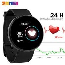 SKMEI ספורט גבירותיי Mens שעונים Bluetooth עמיד למים שינה צג שעוני יד עבור Huawei Xiaomi GPS Tracker כושר Reloj B36M