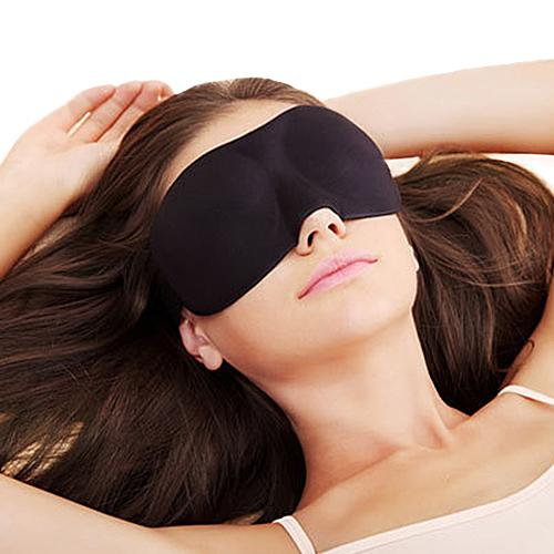 Sleeping Eye Mask Portable Shade Nap Cover Blindfold Earplugs Shade Travel Sleep Aid Cover Light Guide  Relax Travel Eyepatch
