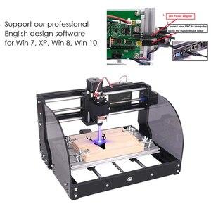 Image 2 - Лазерный гравер с ЧПУ 3018 Pro Max, 15000 МВт, GRBL DIY 3 оси, DIY мини деревообрабатывающий станок с автономным контроллером для дерева, печатной платы, ПВХ, Новинка