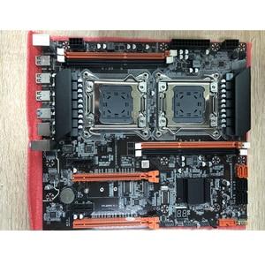 Image 4 - Atermiter X79 Dual CPU Motherboard LGA 2011 4 * DDR3 REG ECC USB3.0 Sta3 PCI E 3.0 With Process Motherboard