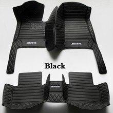 Alfombrillas impermeables para coche, cubierta de alfombra para automóvil, color negro, para Mercedes Benz GLA Class GLA180 GLA200 GLA250 GLA45 AMG X156 H247