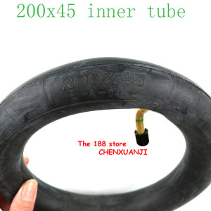 "Image 3 - 200x45 Inflated inner tube For E twow S2 Scooter Pneumatic Wheel 8"" Scooter Wheelchair Air wheel inner tire 8x1 1/4 tube"