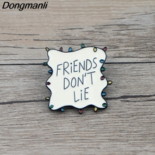 K501 Hot TV Show Stranger Things Metal Enamel Pin and Brooches Backpack/Bags Badge Denim Brooch Collar Jewelry Gifts 1pcs