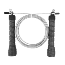 цена на Hand Rubber Jump Rope Universal Bbearing Steel Wire Weighted Jump Rope Adjustable 3Meter Speed Rope