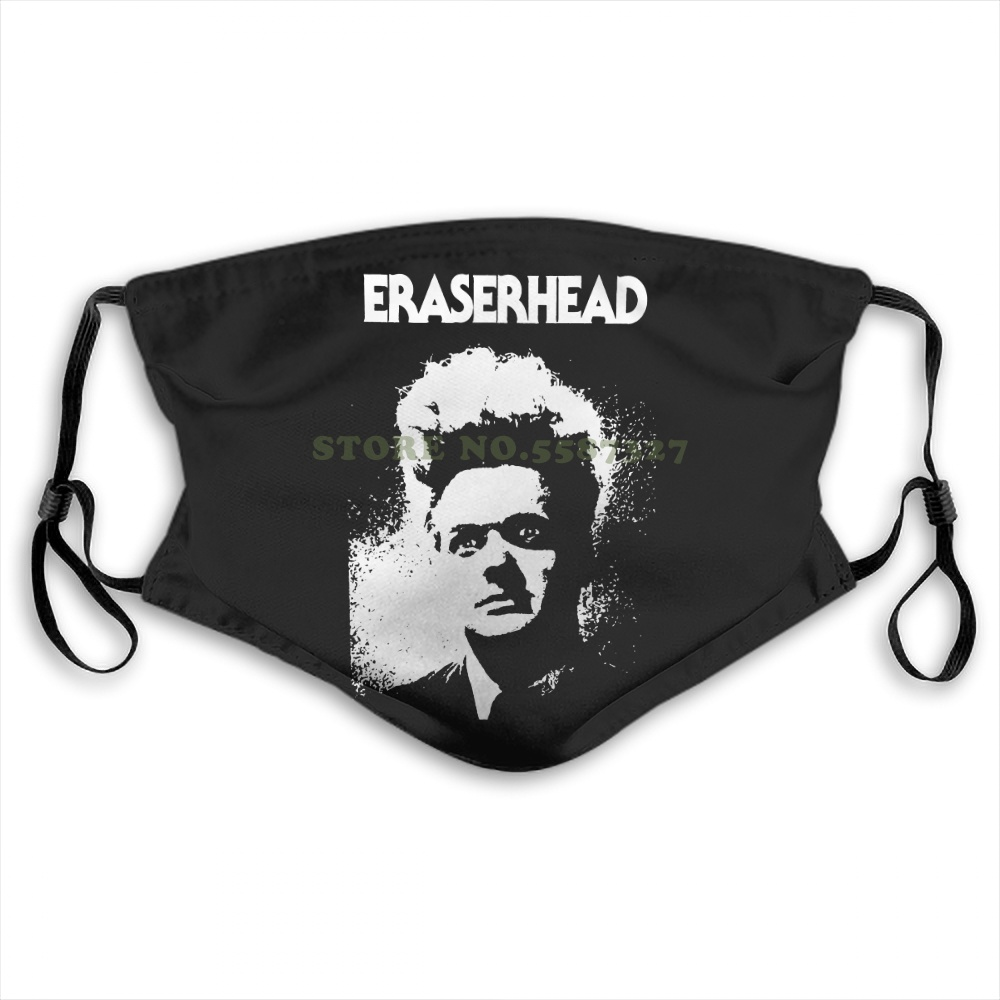 Face Mask Eraserhead 1970 Horror Film Movie American David Lynch Anti Dust With Filter For Men For Women Kids Girl Masks image
