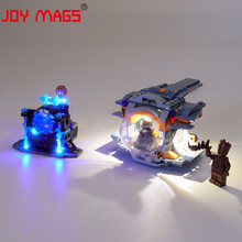 JOY MAGS Only Led Light Kit For 76102 Thor' s Weapon Quest Lighting Set Compatible With 76102 07105 10835