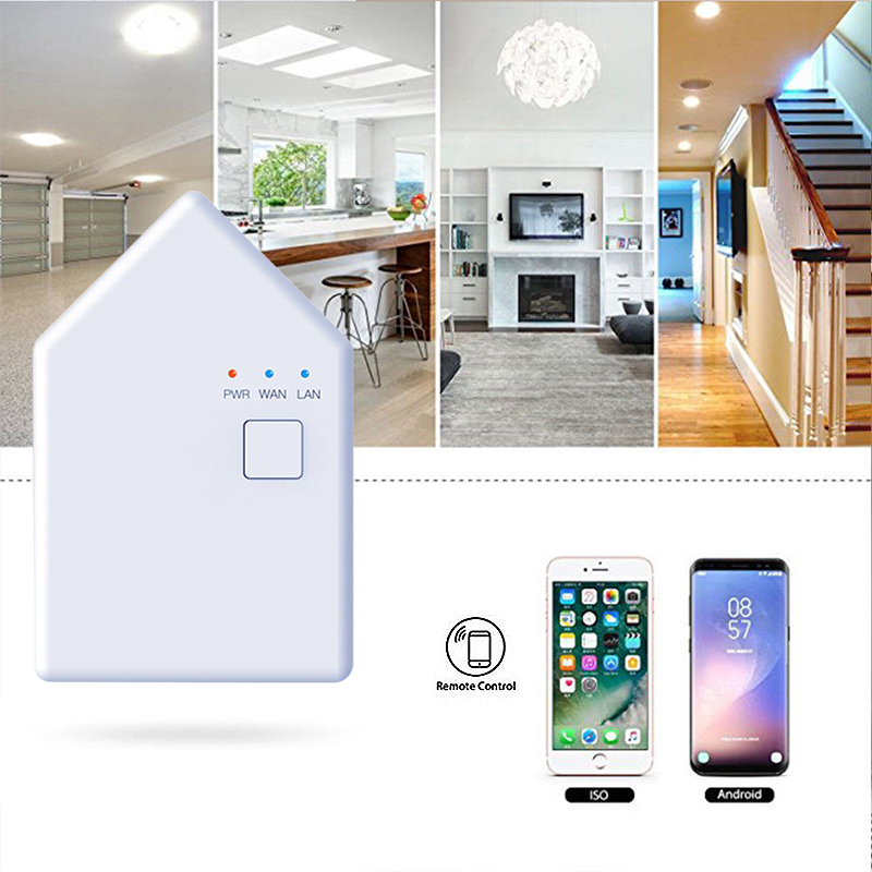Wifi Smart Bridge Home Switch DIY Timer Smart Home Automation Universal Switch Intelligent Domotica Wi-Fi Remote RF Controller