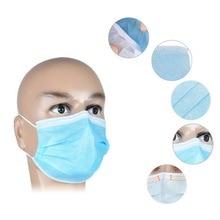 40 Pcs הפנוי Dustproof פנים פה מסכות אנטי PM2.5Anti שפעת נשימת בטיחות מסכות פנים CareElastic