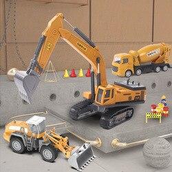 Tractor Auto Voor Kids 2 Tot 4 Jaar Oud Model Auto Speelgoed Vrachtwagen Techniek Legering Metalen Plastic Diecast Klassieke Voertuigen voor Jongen Gift