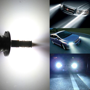 Image 5 - 1pcs H1 H3 Led Bulb 12V 24V 60W 12SMD Led Chips Led Fog Headlight 650LM 6000K Fog Light Auto Headlamp Lamps Automobile