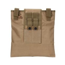 Nylon magazyn damska recyklingu torby rozmaitości Emerson Tactical spadek etui Airsoft wojskowy Multicam kamuflaż składany bag1