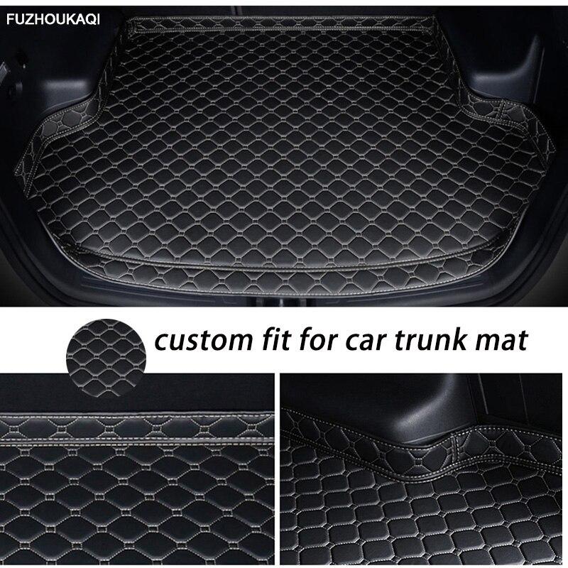 Пользовательские коврик для багажника автомобиля для Volvo S90 L S90L V40 V60 S60 S80 XC60 XC90 Гибридный Грузовой Коврик для багажника ковер, коврик протект...