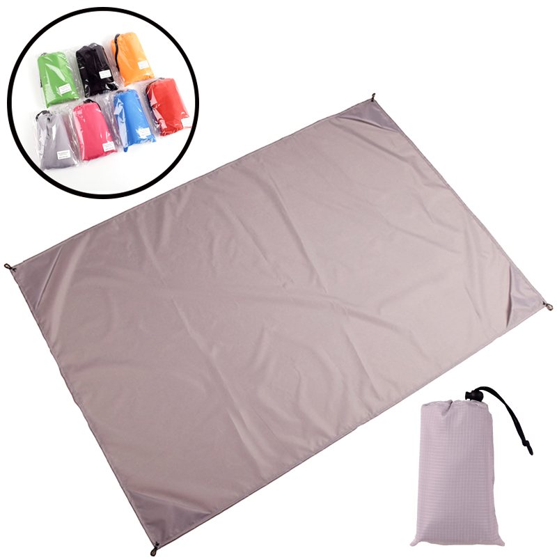 140*200cm Pocket Picnic Waterproof Beach Mat Sand Free Blanket Camping Outdoor Picknick Tent Folding Cover Bedding 3Size 8