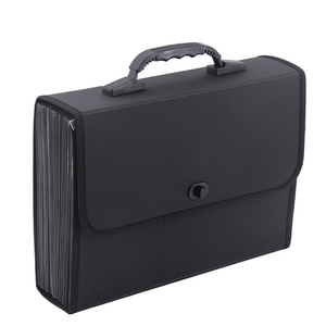 Image 1 - 26 Layers Pockets Expanding File Folder Organizer Briefcase Waterproof Business Filing Box With Handle Office Supply