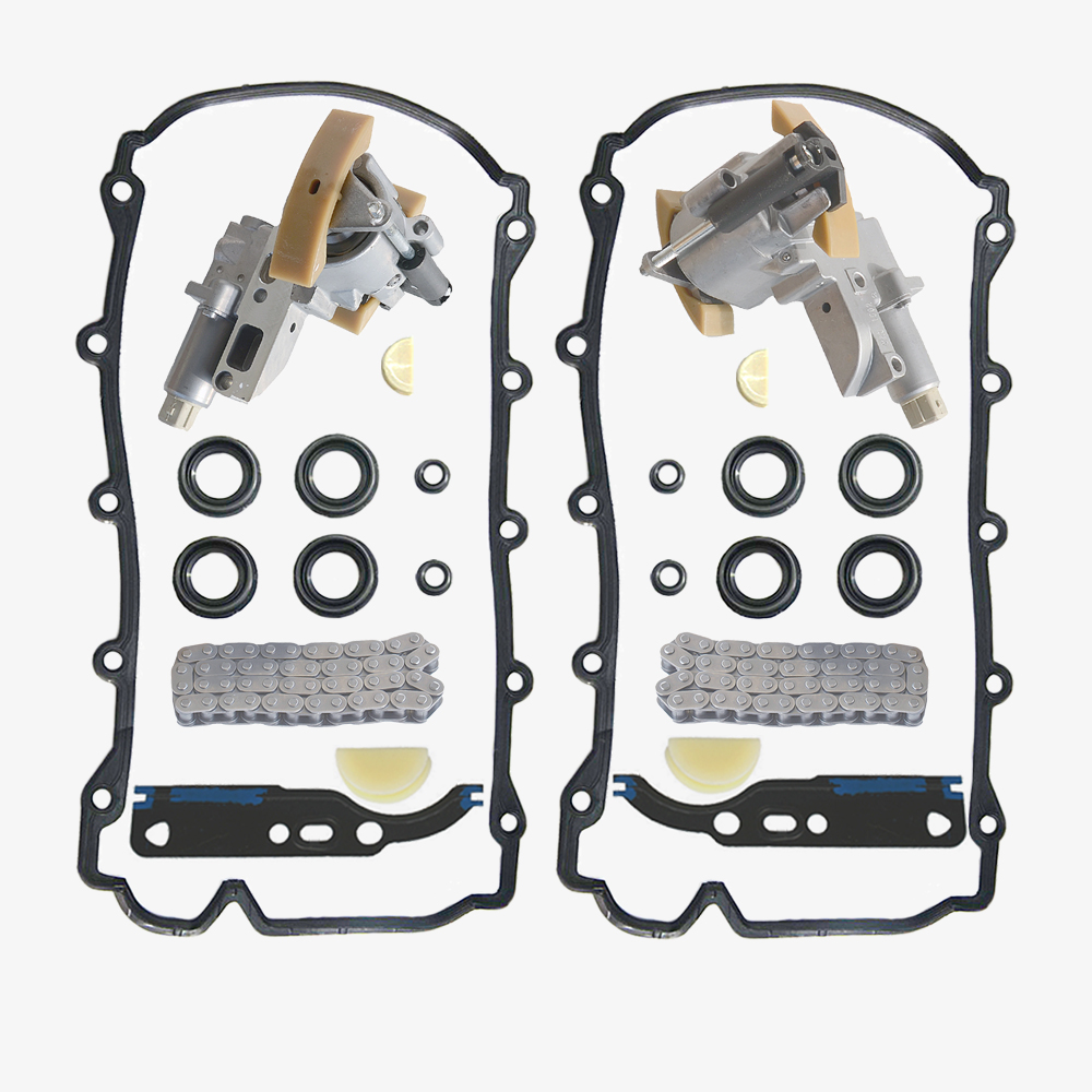 AP01 Pair Timing Chain Tensioner Kit For Audi A6 A8 RS6 S6 S8 VW Phaeton Touareg V8 4.2L 077109087P 077109088P 077 109 087 P