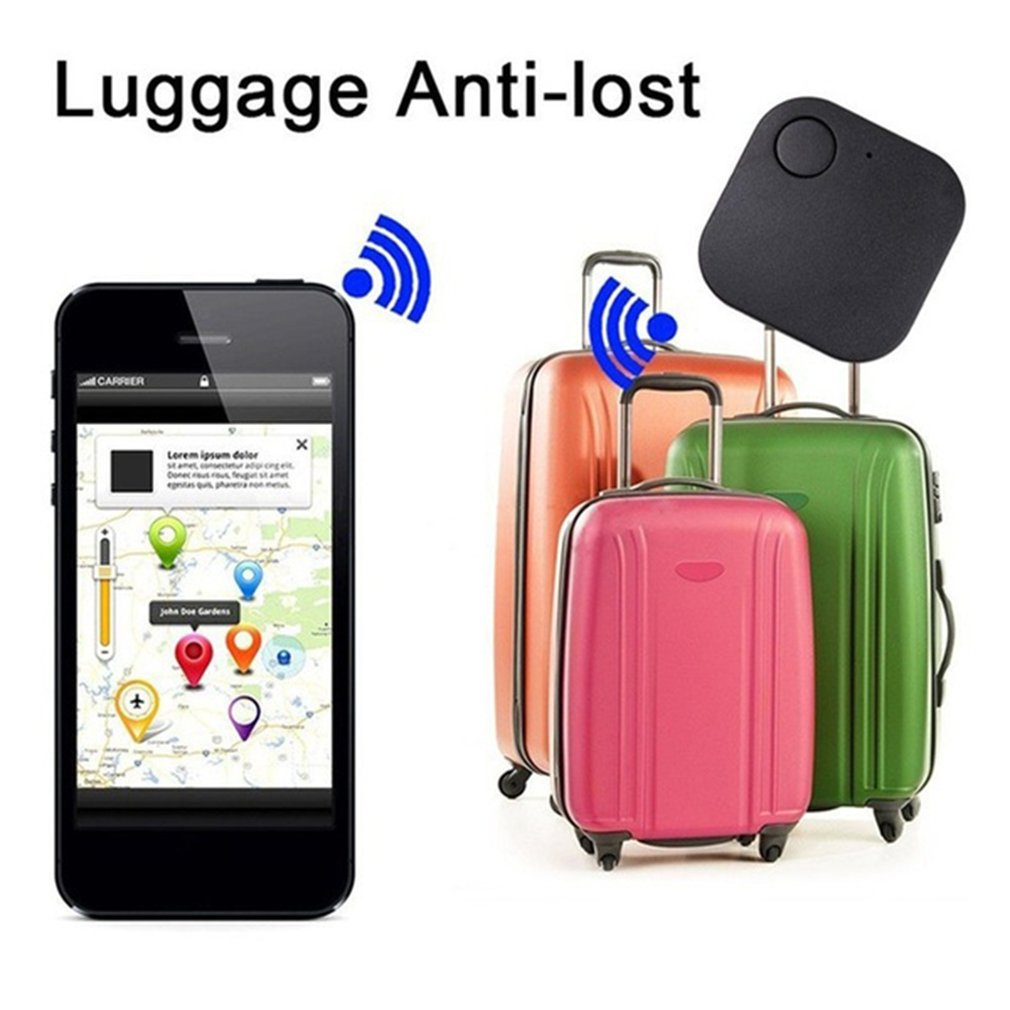 Wireless 4.0 Low Power Two-Way Elderly Child Pet Mobile Phone Smart Anti-Lost Square Wireless Anti-Lost Device