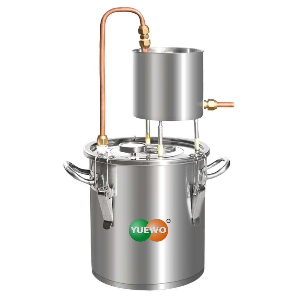Moonshine Still Alcohol Distiller Alembic Spirits Alcohol Wine Making Boiler With Thermometer Pump For Whisky Brandy Vodka 304 S