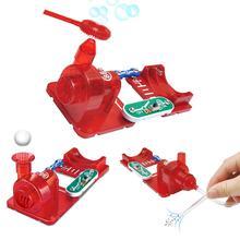 3in1 DIY Elektronische Blase Maschine Suspension Ball Air Kraft Bildung Spielzeug lernen beliebte wissenschaft wissen übung hand fähigkeit