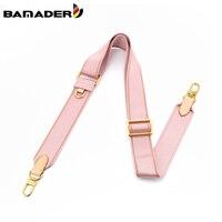 Bamander-Correa de lona ajustable para bolso, monedero de cuero de vaca, correa de hombro ancha, de lujo, para mujer