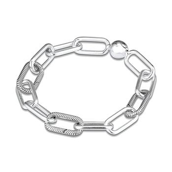 CKK Bracelet Me Link Bracelet for Women Pulseira Feminina Masculina Pulseras Mujer Silver 925 Sterling jewelry