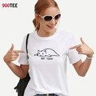 Cat T Shirt Women Co...