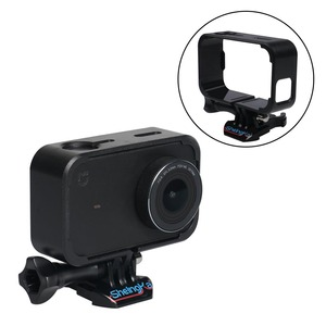 Gosear Protective Side Frame Mount Housing Adapt for Xiaomi Mijia 4K Action Camera Accessories(China)