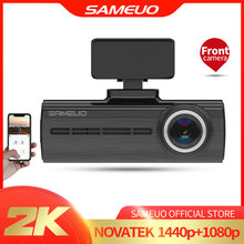 Sameuo U750 Dash Cam Wifi Voice Record Verborgen Dash Camera Fhd 1440P Front Wifi Auto Dvr Camera 24H parking Monitor Nachtzicht