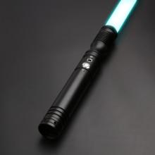 TXQsaber Metal Handle FOC Lightsaber Force FX Heavy Dueling Color Change 6 Sound Fonts Apprentice RGB Saber-TS013