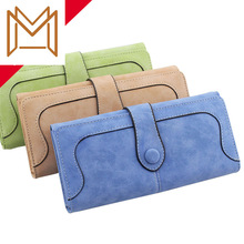 Hasp Wallet Position Capacity Women's Wallet Matting Long Mobile Phone Package
