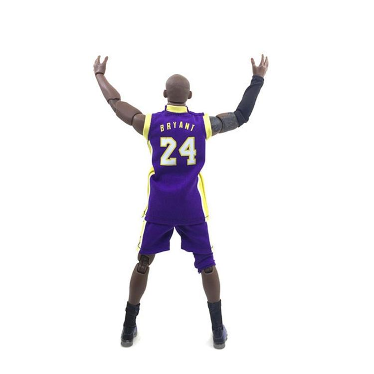 NBA Basketball Star 24 Purple Kobe Bryant KOBE Bryant 1/9 Boxed Garage Kit