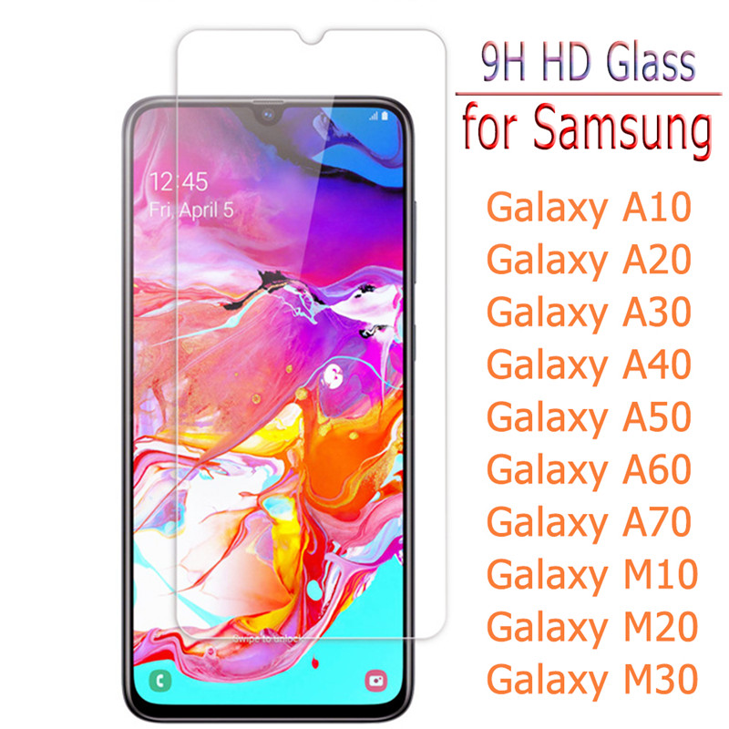 Tempered Glass For Samsung Galaxy S10e 9H Screen Protector For Samsung S10e A10 A20 A50 A70 Safety Film Cover Protetive Glass