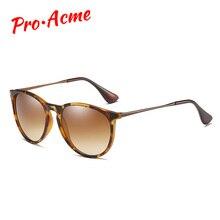 프로 Acme 빈티지 고양이 눈 편광 선글라스 여성 2020 거북이 브라운 레트로 라운드 미러 렌즈 gafas 드 sol mujer PA1266