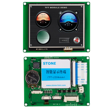 LED backlight 69.9mm*52.5mm viewing area wide angel LCD display in 3.5 TFT touch screen control board