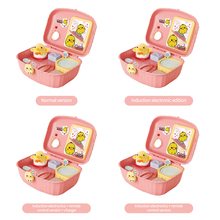 Play House Chick Toy Kit With Storage Box Funny Chicken Raising Game Interactive Toys For Kids Girls