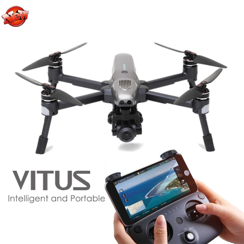 Professional Aerial Smart WIFI FPV RC Drone Vitus 320 3 Axis Gimbal 4K UHD Camera Infrared Obstacle Avoidance AR Game Quadcopter