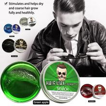 Hair Wax Natural Hairdressing Wax Styling Cream Hair Tools For Men 100g Professional Hair Wax Long-lasting Fluffy Mud недорого