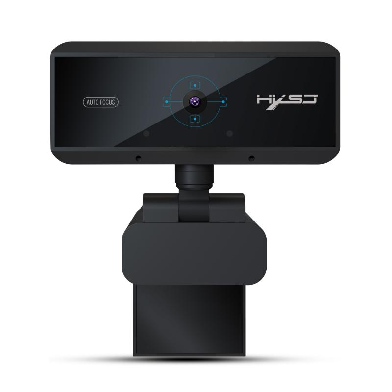 Full HD 1080P 30fps 5M Pixels USB Webcam Built-in Microphone Auto Focus Computer Peripheral Web Camera for Youtube PC Laptop