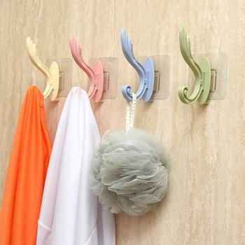 1pc hak styl skandynawski wieszak antypoślizgowy ręcznik ubrania przechowywanie w domu haczyk na Organizer haczyki na drzwi kuchnia akcesoria łazienkowe tanie i dobre opinie CN (pochodzenie) Wholesale Dropshipping