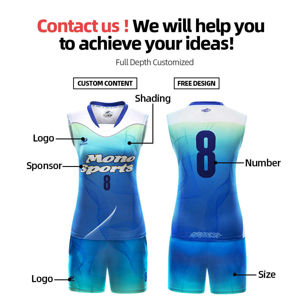 Women S Breathable Sleeveless Volleyball Jersey Set Quick Dry Volleyball Uniform Team Game Competition Training Sportswear Aliexpress