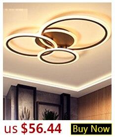Hae0f39af936d4ae8a0cd4bd1077faf0eP Hot Sale Modern LED Ceiling Lights For Living Room Bedroom Dining Room Luminaires White&Black Ceiling Lamps Fixtures AC110V 220V